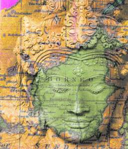 borneo buddha by A.Ashman
